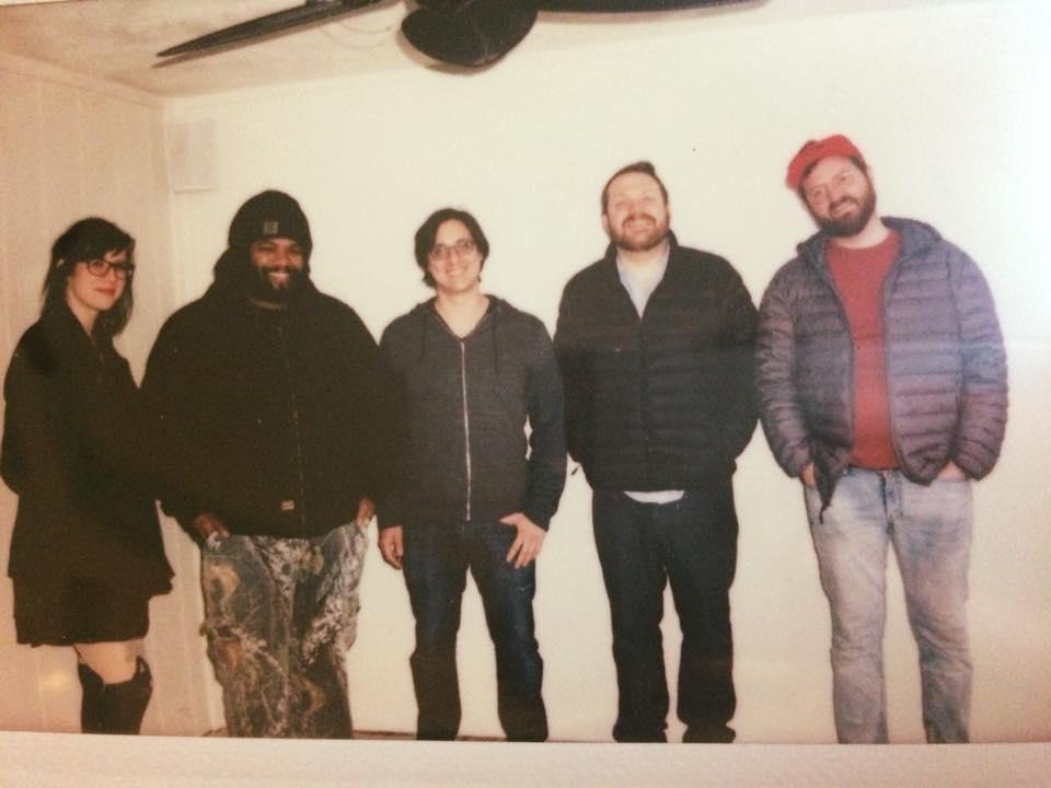 recording crew at Shiny Sound 2/10/18