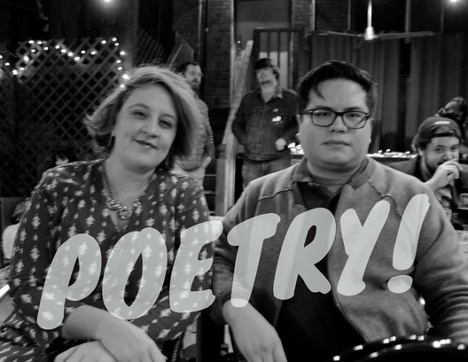 Check out our poetry workshop with Caitlin Pryor and Sebastian Paramo on April 28!