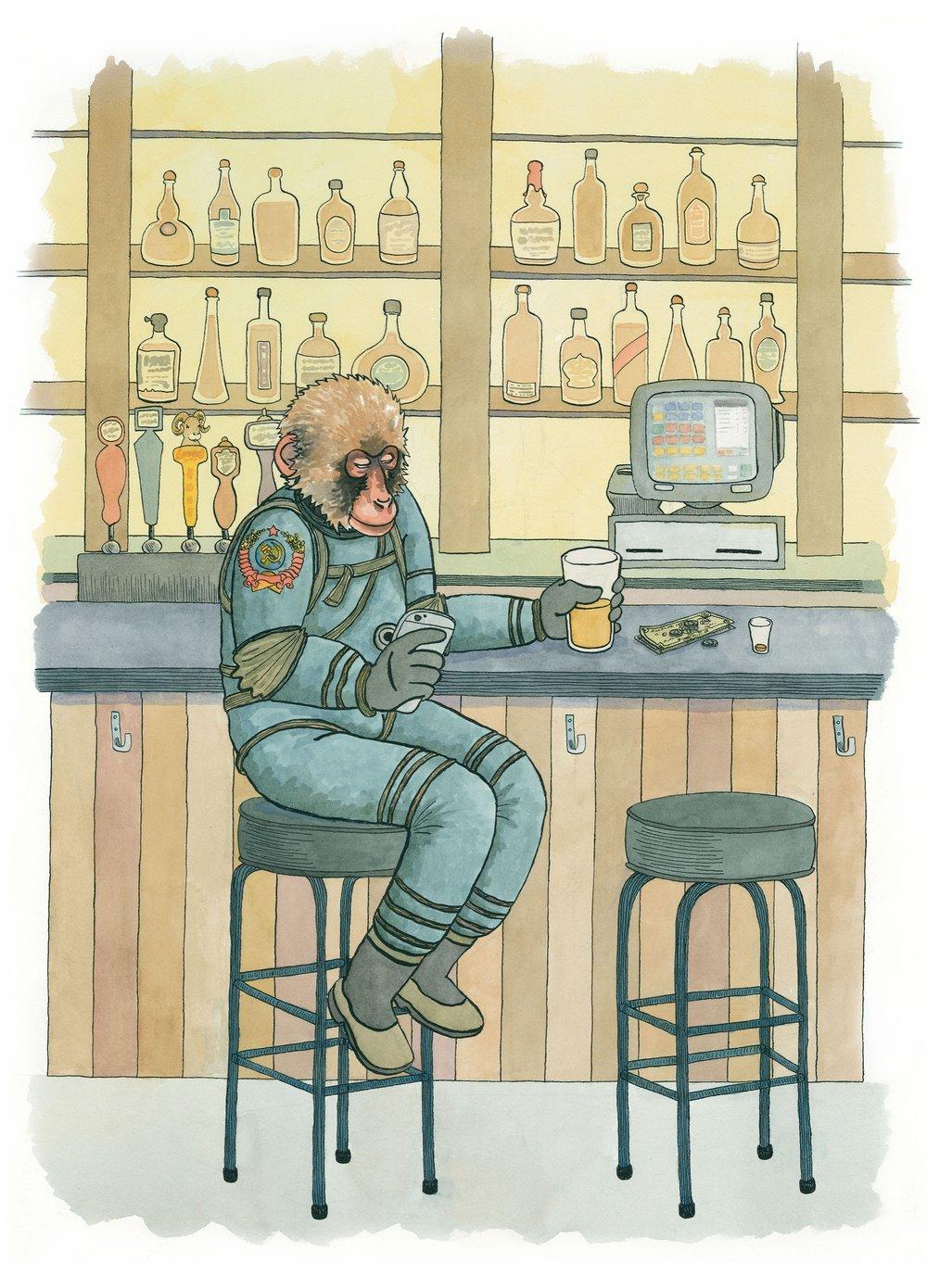 Joe Duncan,  Space Monkey