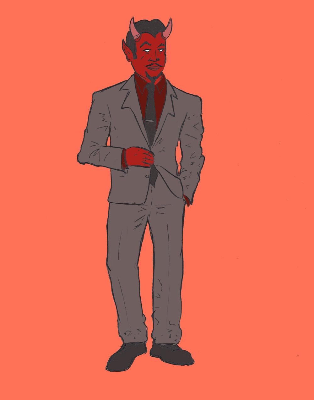 Matt Sallack,  Dapper Devil