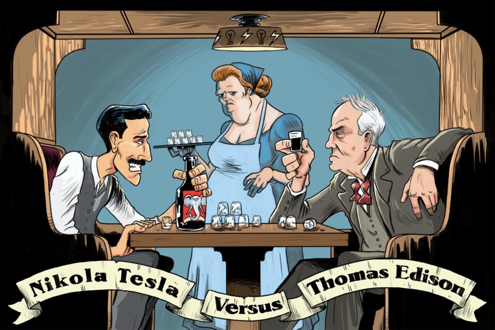 Bryan Kelly,  Nikola Tesla Versus Thomas Edison