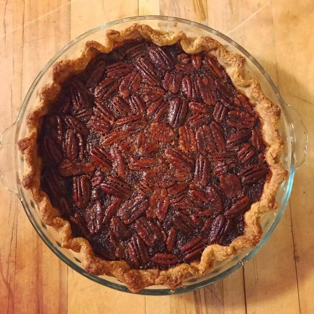The bossest bourbon pie, right here.