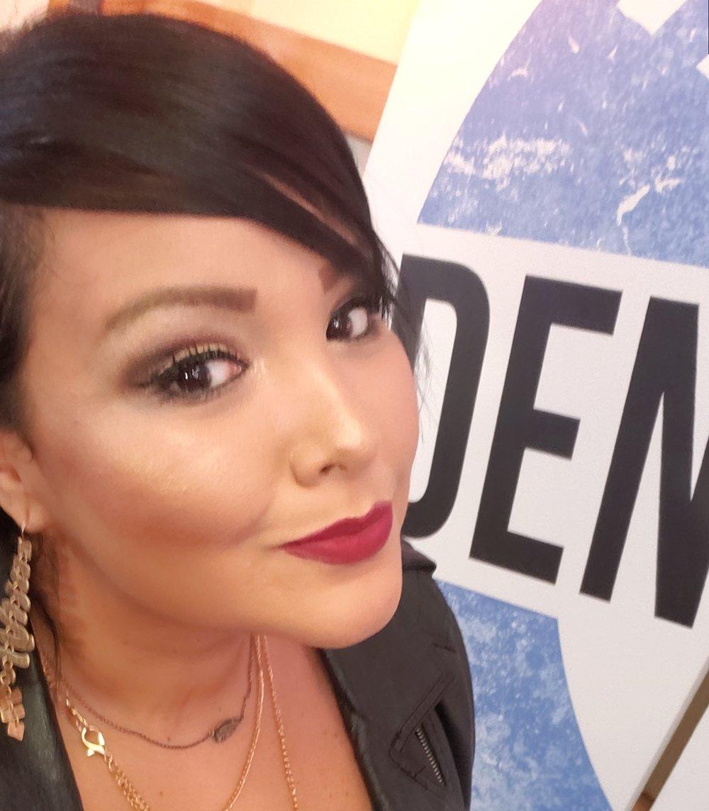 Ellie Gonzalez / Diva Girl Ellie / The Denton Diva   poetry, radio   Producer/ Radio show host of The Denton Vibe, Founder of Lost Poet Lounge.  Diva Girl Ellie:  Instagram  Lost Poet Lounge:  Instagram  /  Facebook  The Denton Vibe:  Instagram  /  Facebook