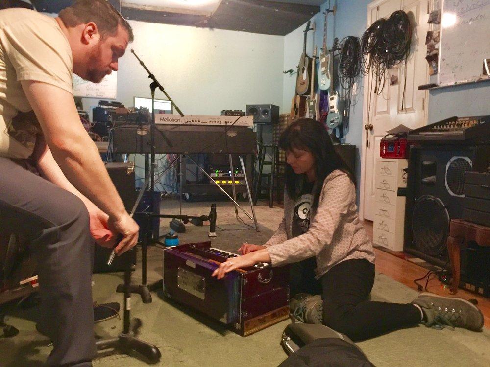 Sarah Ruth at Shiny Sound Recording Studio