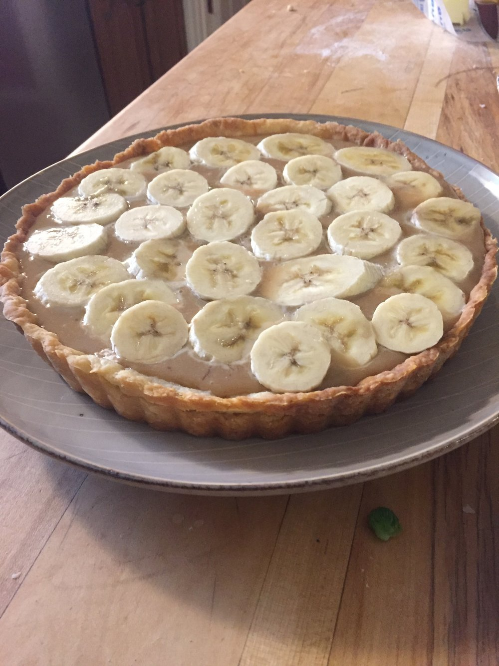 Caitlin's Banoffee pie  photo by Storie Cunningham