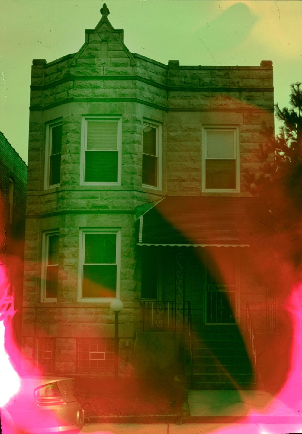 House (18 of 34) , 2017  ( Home Distortion  Series): 35mm slide film