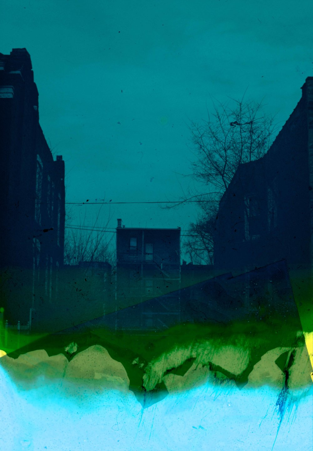 House (26 of 34) , 2017  ( Home Distortion  Series): 35mm slide film