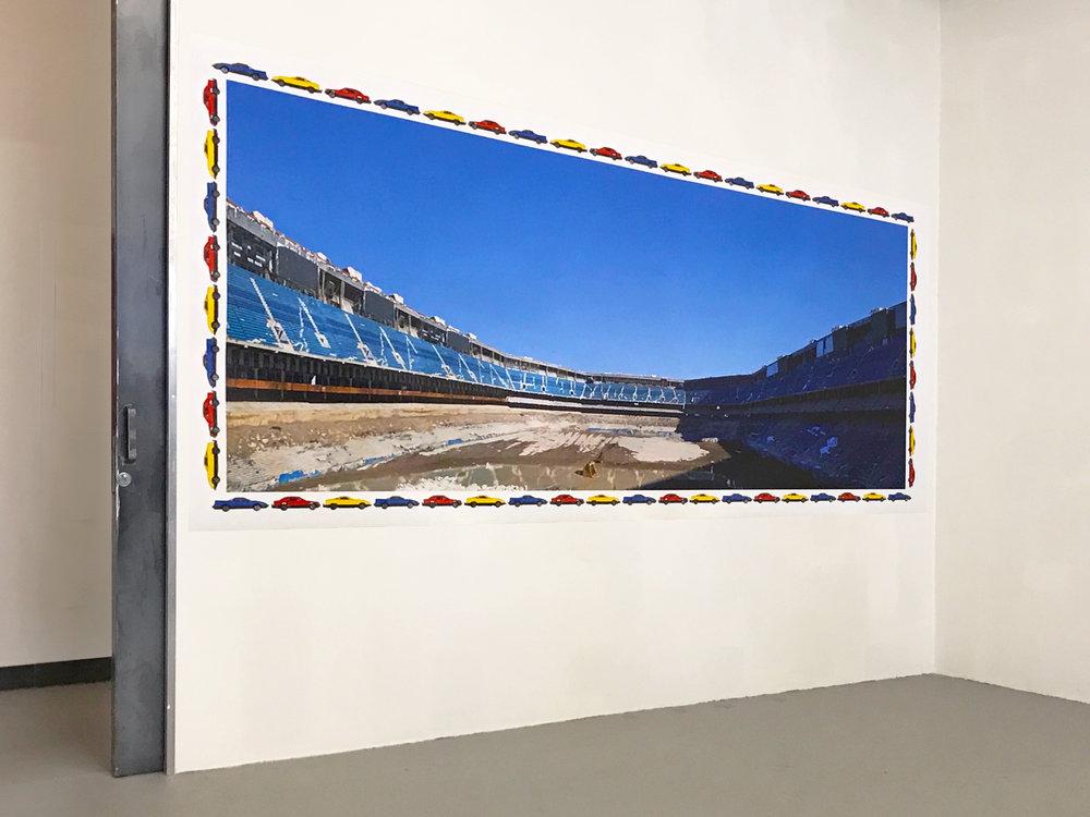 Installation view  Mana Contemporary, 2017