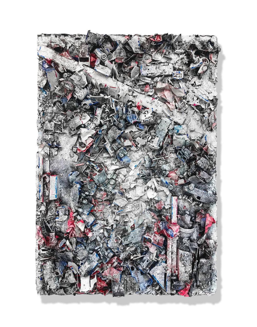 Untitled, 2018  ( Remnants  Series): archival pigment print