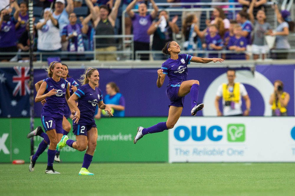 PC: Excelle Sports The Curious Case of Kristen Edmonds: How the explosive member of the Orlando Pride has gone from relative anonymity to breakout star in the NWSL. Read more here