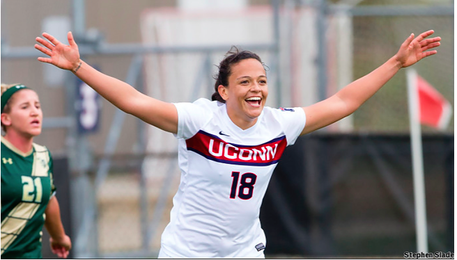 The Rise of Stephanie Ribeiro. Women's Soccer Weekly recipient of the NCAA Player of Year award. Here