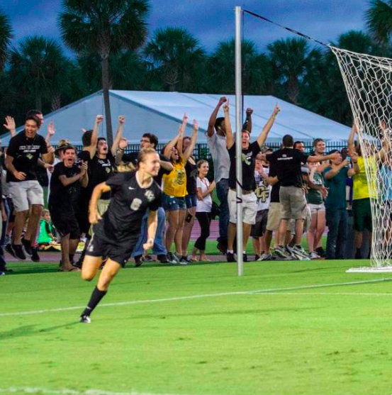 UCF Striker Kayla Adamek hones skills with world's best. Here