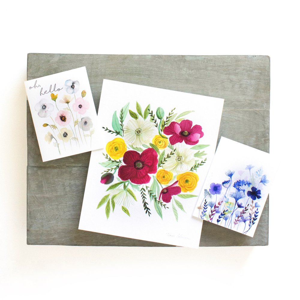 Art Prints & Stationary Cards