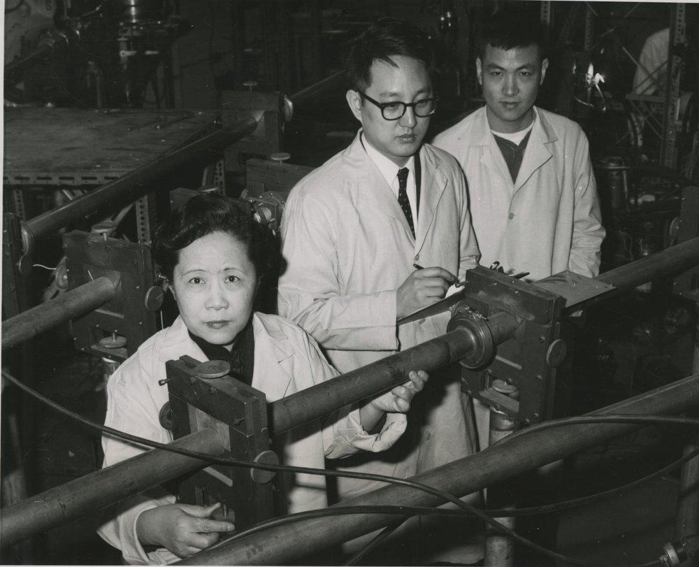 Chien Shiung Wu at Manhattan Project.jpg