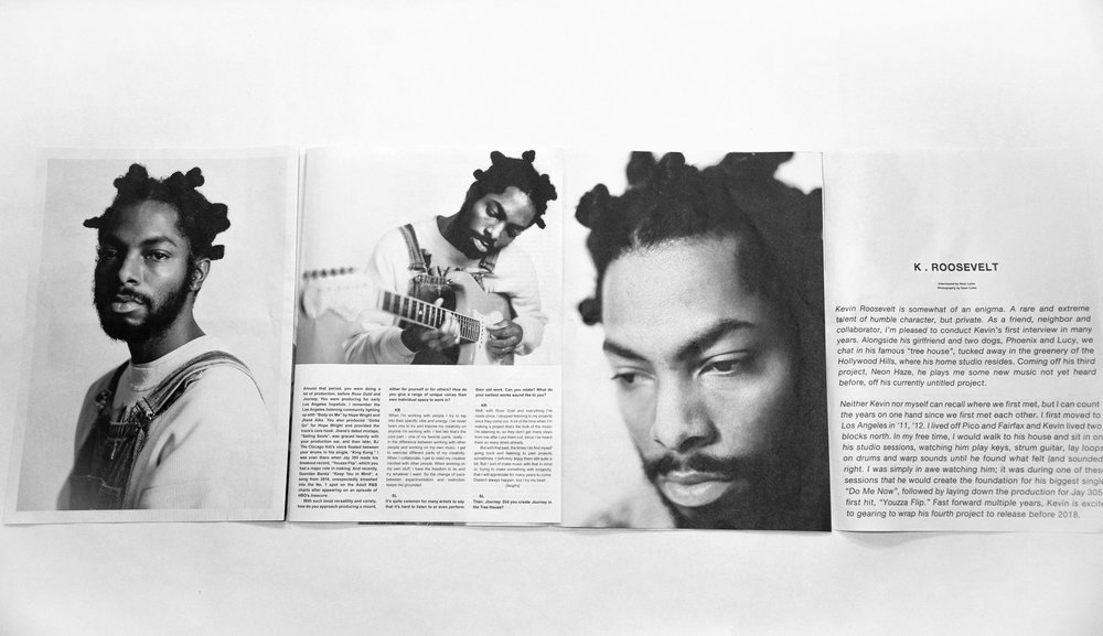 photo+interview of K.Roosevelt for Needs&Wants Paper