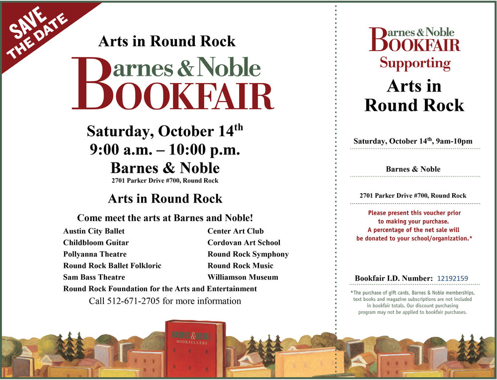 Barnes and Noble ARTS DAY Flyer with Voucher OCT 14th.jpg