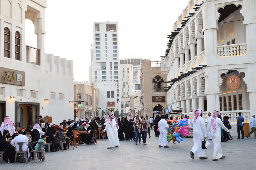 Souq Waqif restaurants