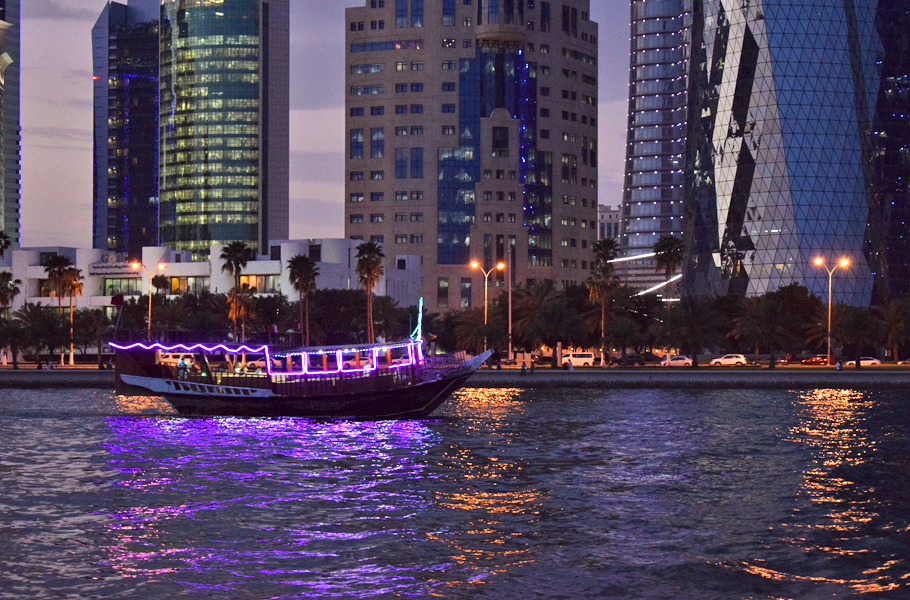 Dhow night Doha