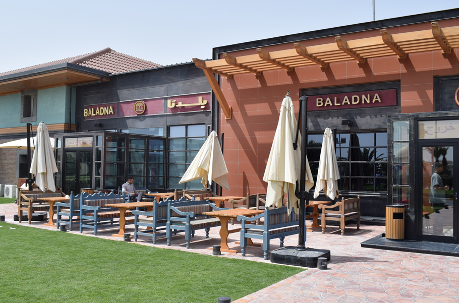 A farm... in the desert? Come along and explore Qatar's Baladna Farm, a working sheep farm complete with a restaurant, tea shop, and yes, even hay bales.