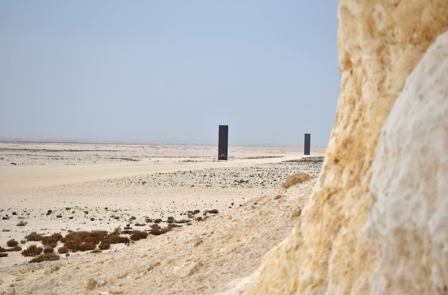 From Film City to dramatic rock formations and Richard Serra's sculptures in the desert, Qatar's Zekreet peninsula makes for an interesting day trip into the middle of nowhere.