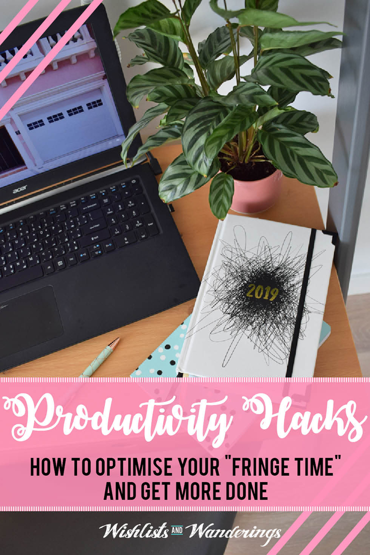 Fringe time - the little snippets of time that you have free - is a magical concept. Could you create time for the tasks and projects you never seem to get around to? Could you free up time on your weekends or evenings to do other things? Here is my guide to harnessing your fringe hours, be more productive and make progress on your goals.