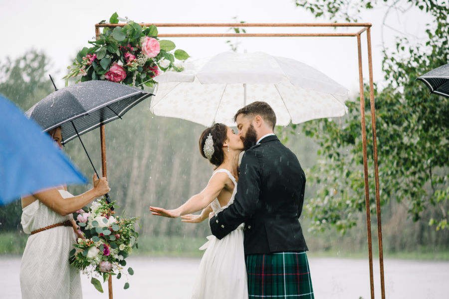 What happens if it rains on your wedding day the wed life there are a lot of things you can control on your wedding day rain is not one of them so dont fret about things that are out of your control junglespirit Images