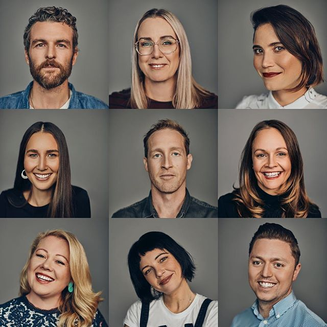 How's about this ridiculously intelligent looking team I get to work with every day?  Thanks @kennysmithshoots for capturing all our humanness.