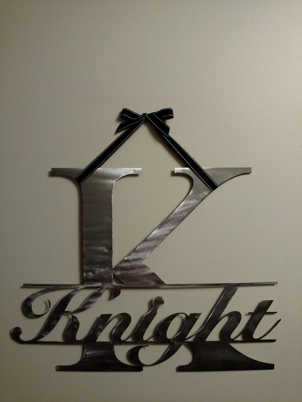 Knight in 'K' on wall 16x21.jpg