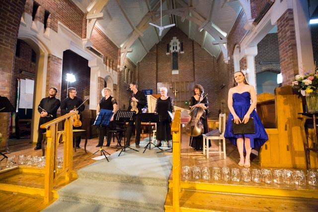 Mitchell Quartet, Helen Barnett (Soprano) and Matthew Gately (Trumpet) - BaroqueFest 2015
