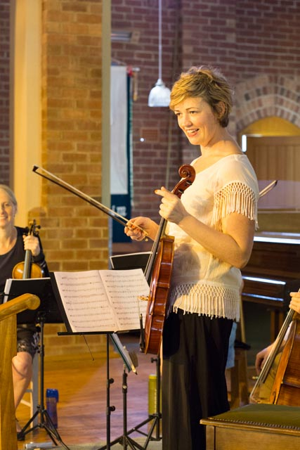 Heather Lloyd - Education workshops BaroqueFest 2015