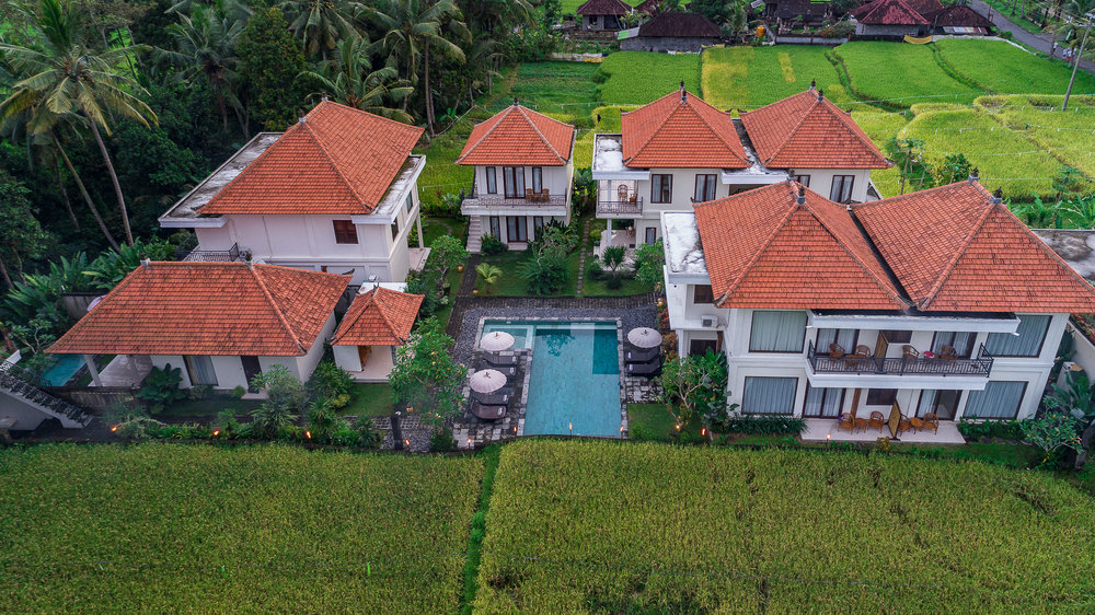 A Balinese hideaway nestled in the rice fields - You'll just keep extending your stay.