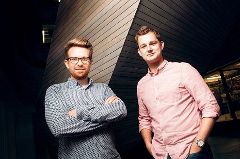 Coconut's Co-founders  Sam O'Connor  and  Adam Goodall  in a  'This is Money'  feature.