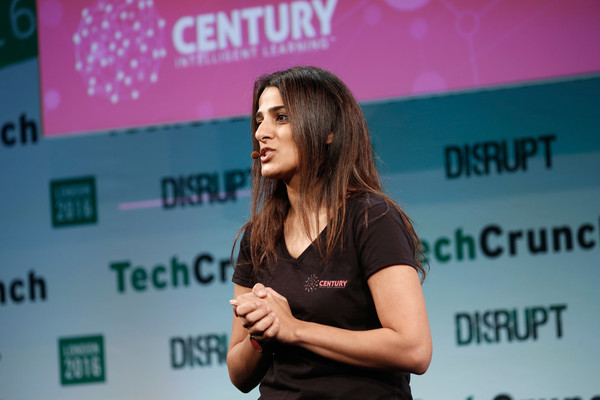 Century's Founder and CEO  Priya Lakhani  OBE at TechCrunch Disrupt.