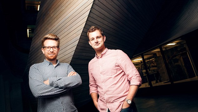 Coconut founders Sam O'Connor and Adam Goodall