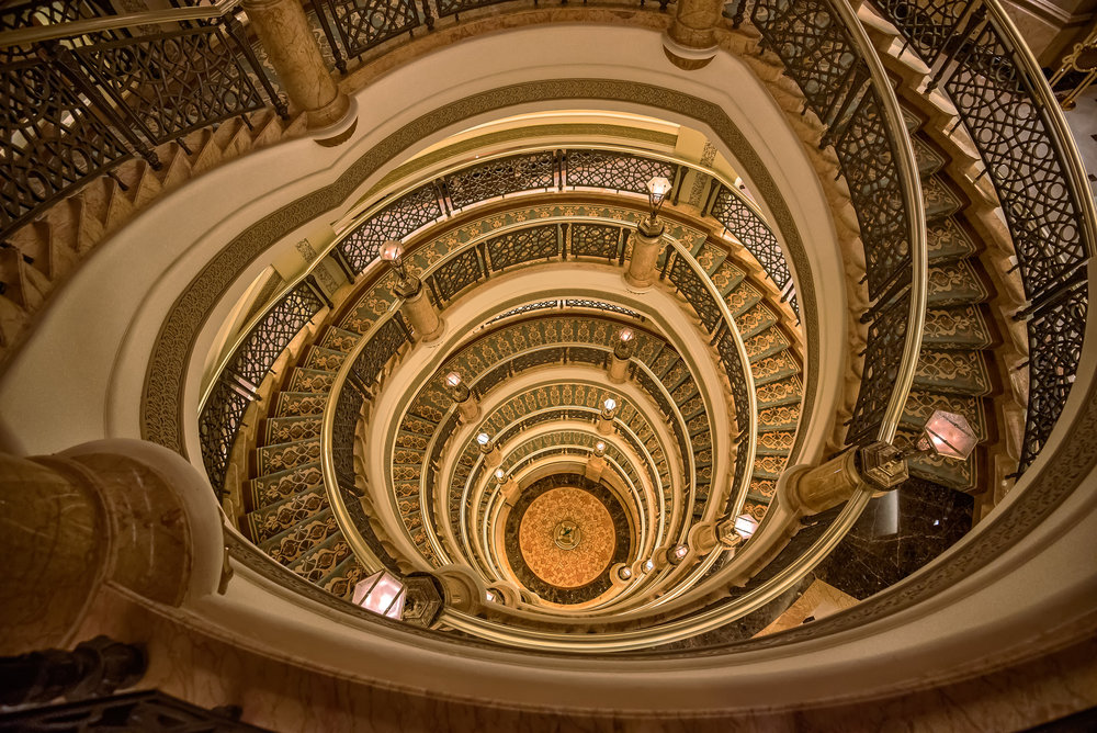 Emirates Palace Staircase