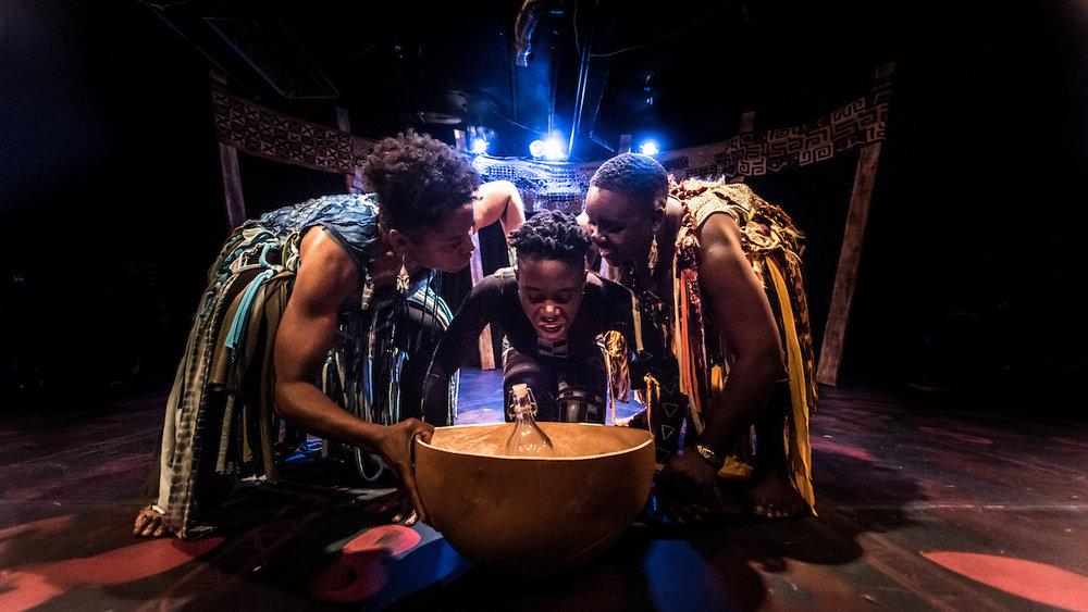 ESU:Crossing the Middle Passage 2016    Tuku Matthews, d'bi Young Anitafrika, Amina Alfred