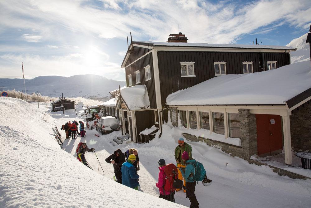 Gjendesheim i Jotunheimen er base for vinterkursa våre.