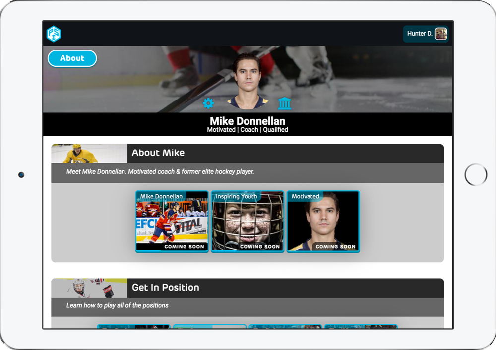 Personal Digital Hockey Academy - 360 Youth Hockey CurriculumPersonalized for Hockey Director / Club