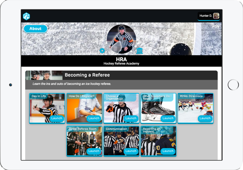 Digital Referee Hockey Academy - 360 Referee Hockey CurriculumMonthly Commissions$18,000 - $115,000