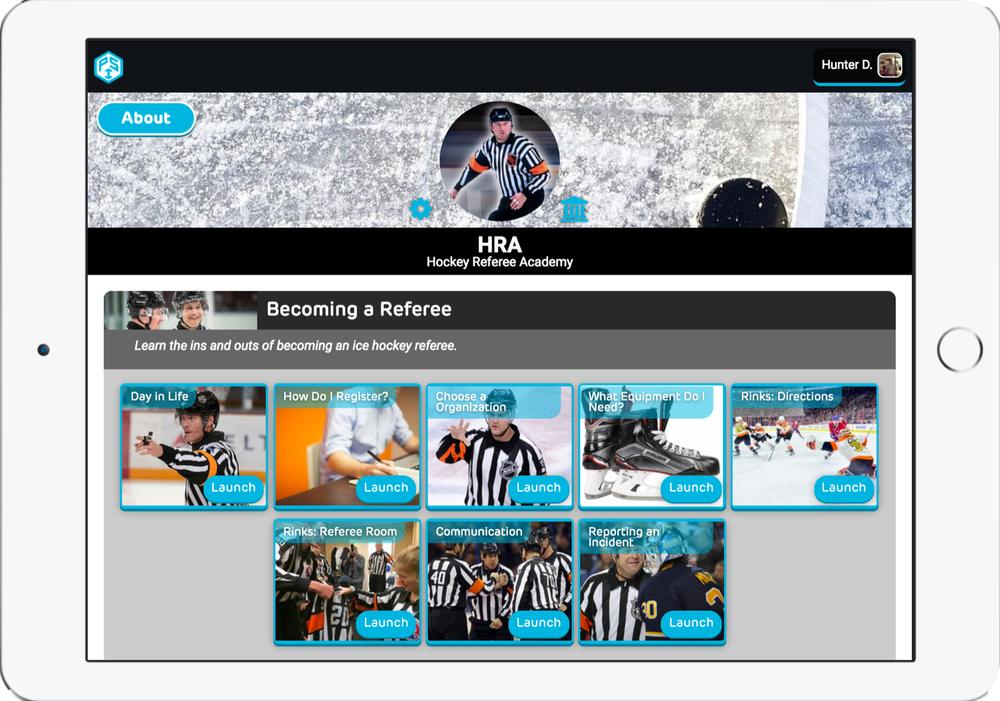 Digital Referee Hockey Academy - 360 Referee Hockey CurriculumMonthly Commissions$18,000 - $115,000