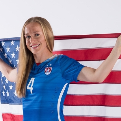 Becky Sauerbrunn - FIFA World Cup ChampCo-Captain USWNT Equal Pay Advocate