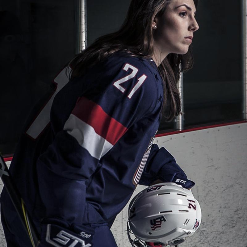 Hilary Knight - NCAA Hockey ChampionUSA Women's HockeyEqual Pay Advocate