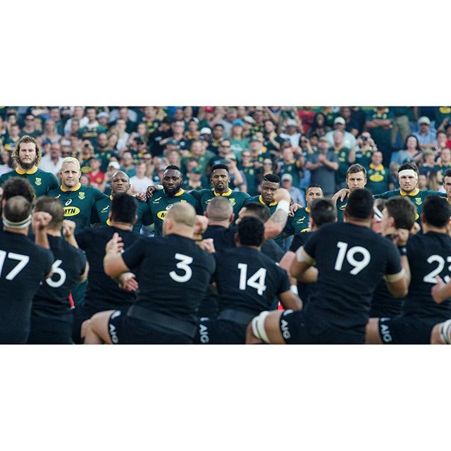 Loftus, October 2018. The Haka is one of the greatest sporting spectacles on earth. In 2018 we worked closely with @asicsrugby, @bokrugby and the @wallabies building stories in the world of international rugby. In 2019 that journey continues and we are proud to be associated with these amazing brands and sportsmen. • #madebyfellandco • Red Scarlet W Framegrab | DOP @davidfisher_za