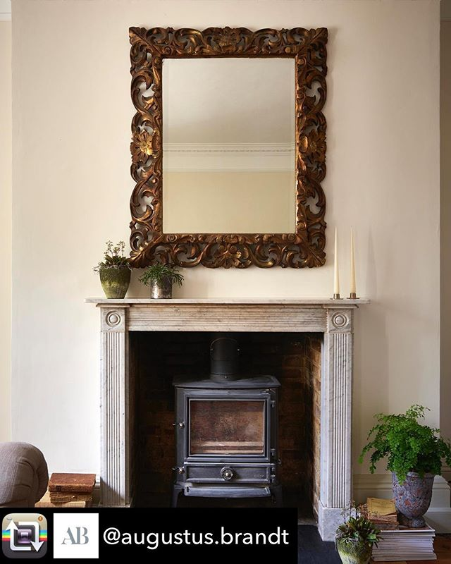 Repost from @augustus.brandt - From a recent project with @angelpetworth Ryde House, our Florentine guilt mirror sits above the fireplace as a focal point to the room #design #interiordesign #home #decor #architecture #homedecor #art #inspiration #furniture #decoration #style #interior #luxury #interiors #love #instagood #interior4all #house #vintage #designer #interior123 #livingroom #modern #beautiful #myhome #homedesign #fashion #instahome #lifestyle #petworthuk