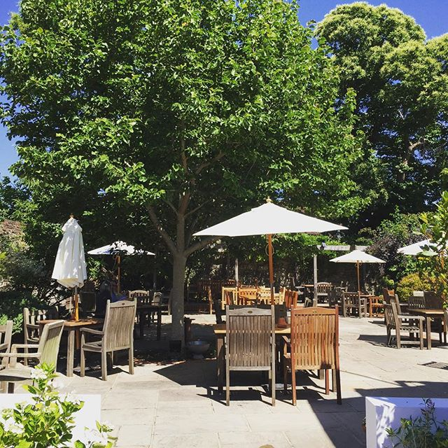It's a beautiful day for it! ☀️☀️☀️ Join us for a spot of #lunch in our beautiful #pub #garden and stay for live #jazz from 3pm. #Petworth #Summer #Sussex #SundayFunday