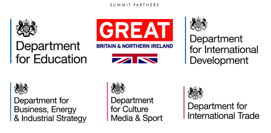 UK government departments supporting the  Edtech UK Global Summit , November 2016
