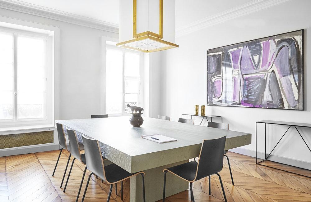 Vaneau - Transformation d'un appartement en cabinet d'avocats130m2 |75007 |Livré en décembre 2015