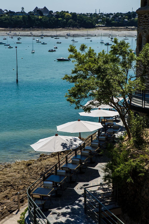 Castelbrac - Hôtel 5* de 25 chambres et communsDinard |Livré en juin 2015