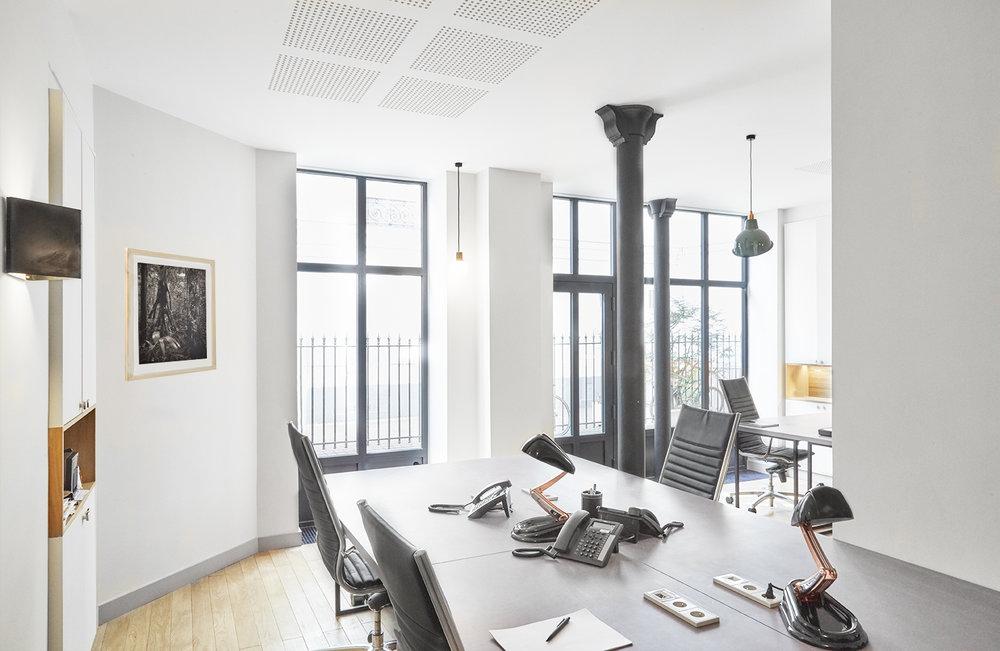 SALNEUVE - Transformation d'un local commercial en bureaux de maîtrise d'ouvrage130m2 | 75017 | Livré en juillet 2015