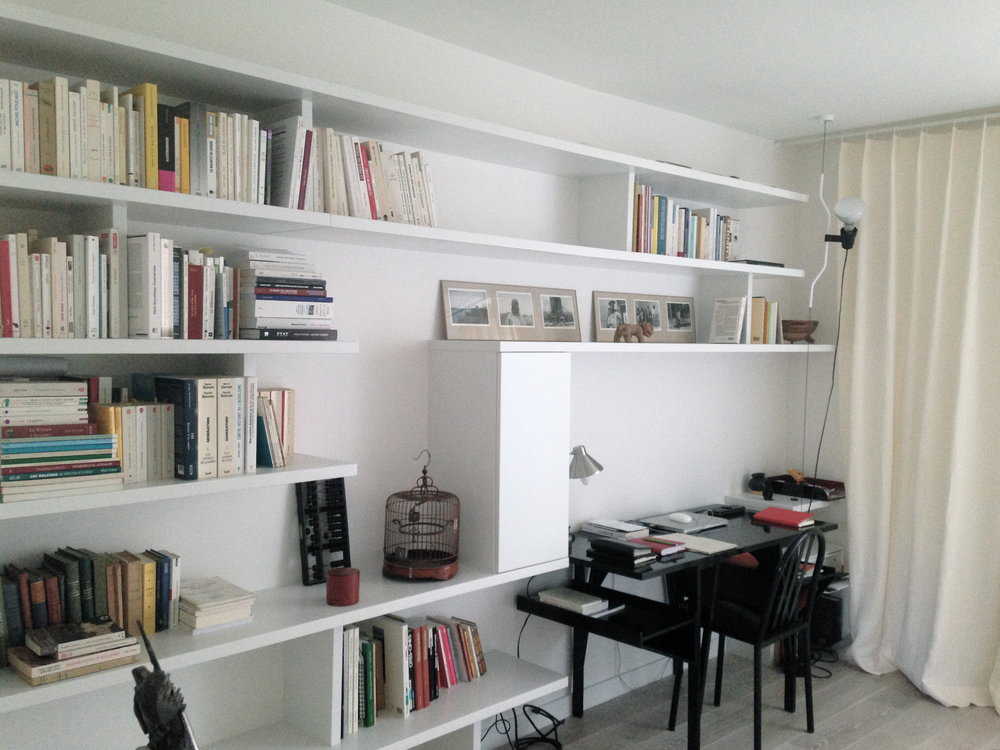BUDIN - Révision des volumes et rénovation complète d'un appartement75m2 |75018 |Livré en juin 2014